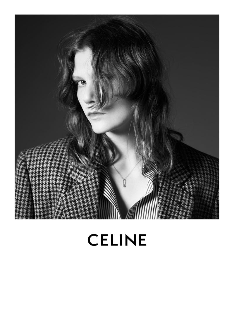 Marland Barkus stars in Celine fall-winter 2019 campaign