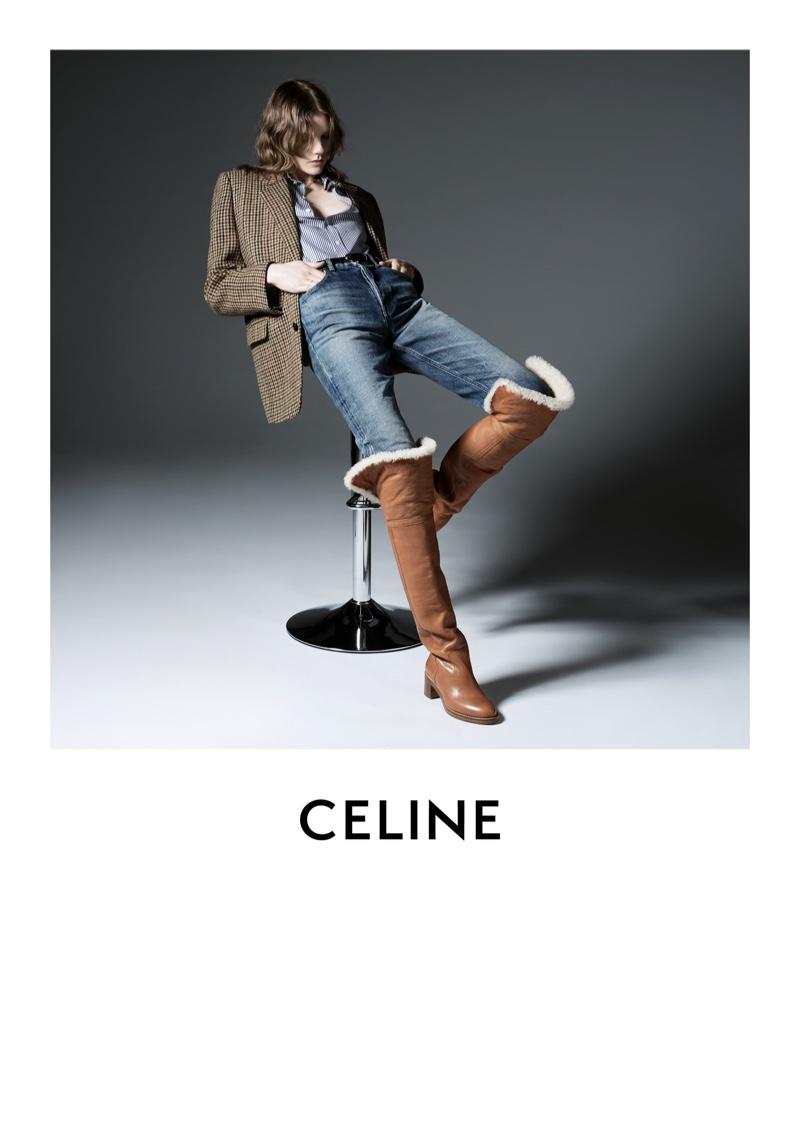 Hedi Slimane photographs Celine fall-winter 2019 campaign