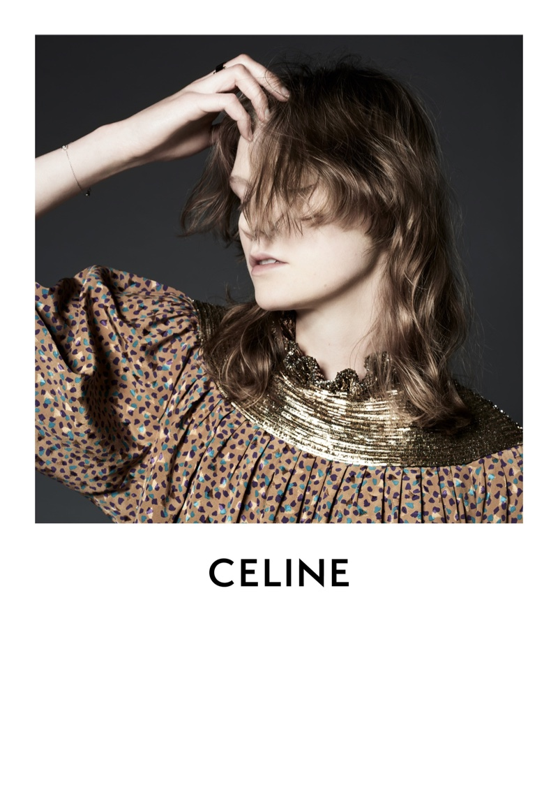 An image from the Celine fall 2019 advertising campaign