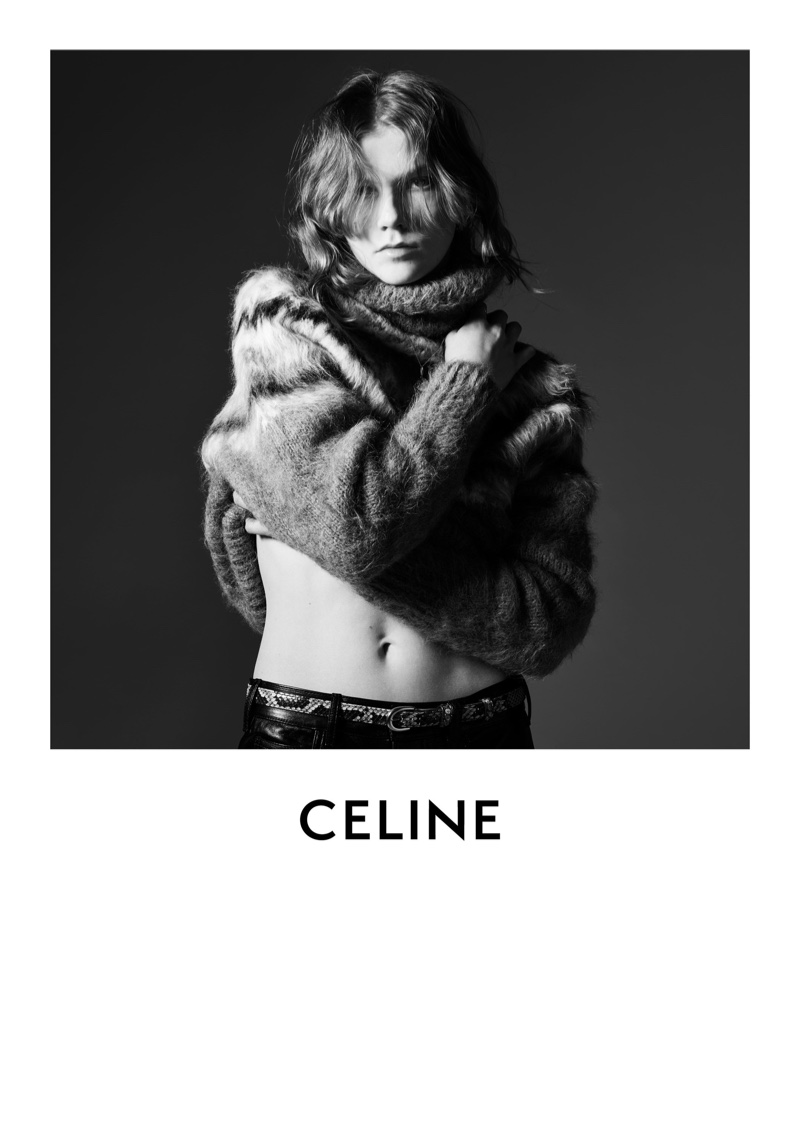 Marland Barkus fronts Celine fall-winter 2019 campaign