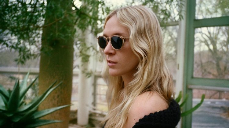 Chloe Sevigny Teams Up with Warby Parker on 'Crystal Overlay' Glasses