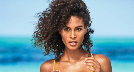 Cindy Bruna Soaks Up the Sun in Calzedonia Swim Campaign