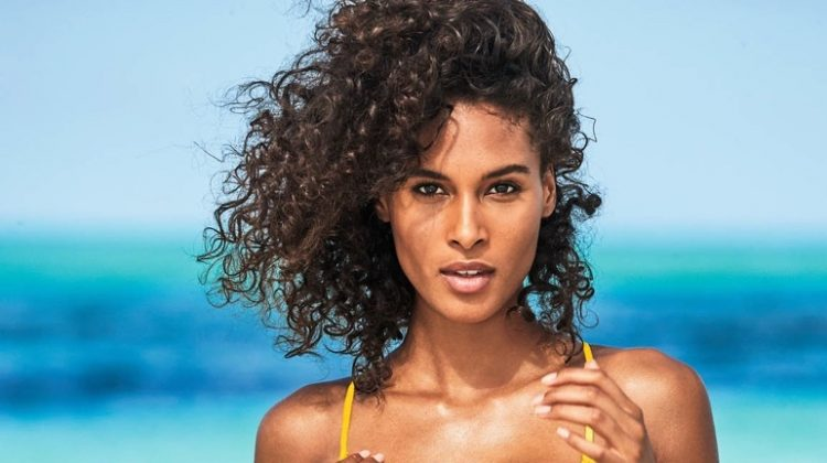 Cindy Bruna Soaks Up the Sun in Calzedonia Swim Campaign