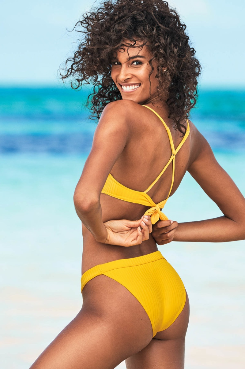 Calzedonia taps Cindy Bruna for its summer swim 2019 campaign