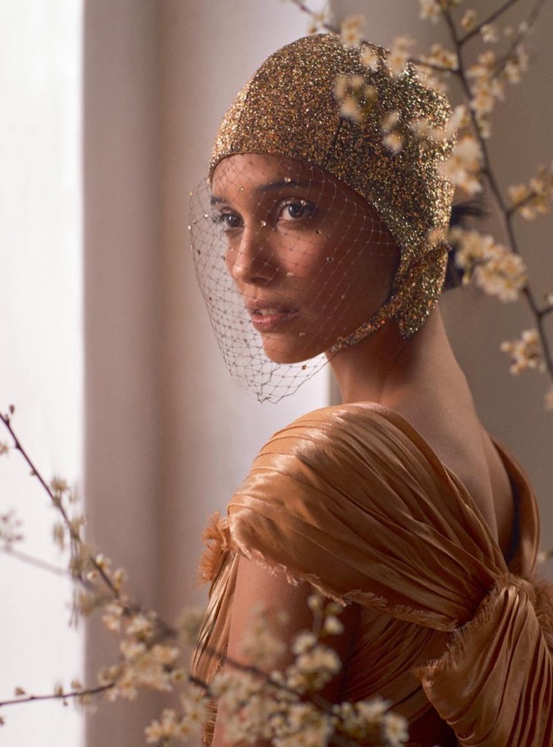 Cora Emmanuel Wows in Haute Couture Looks for Harper's Bazaar UK