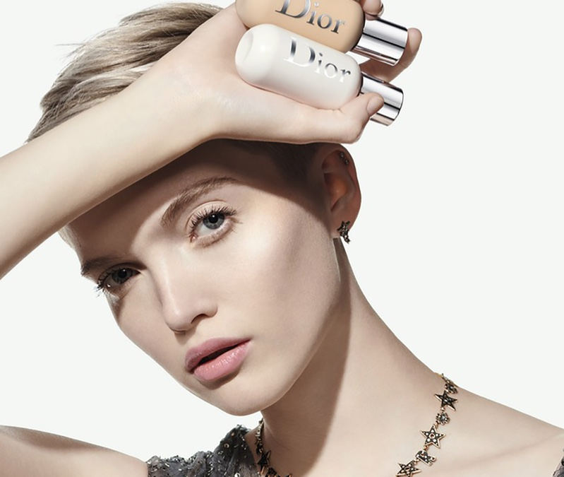 Ruth Bell stars in Dior Backstage foundation campaign