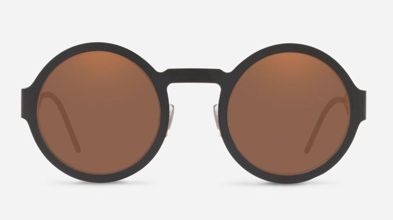 Dolce & Gabbana #DGLogo Round Sunglasses $235
