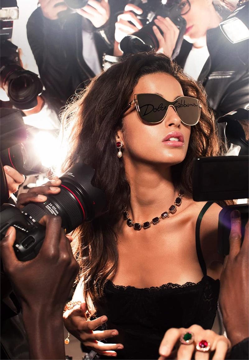 Dolce & Gabbana taps Chiara Scelsi for #DGLogo Eyewear campaign