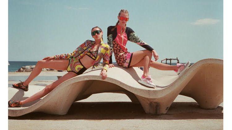 Lauren De Graaf & Lizzie Swanson Wear Vacation Style in ELLE Turkey