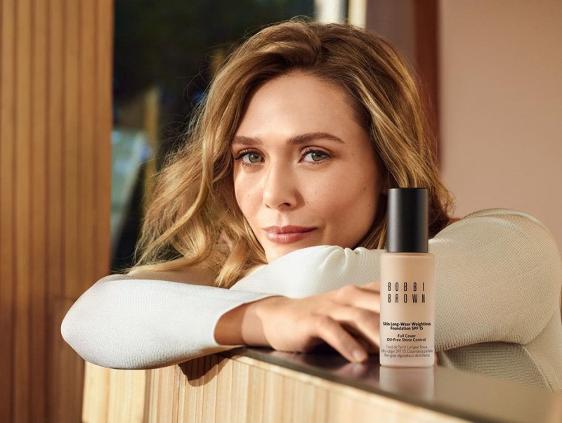 Bobbi Brown Cosmetics announces Elizabeth Olsen as new brand ambassador