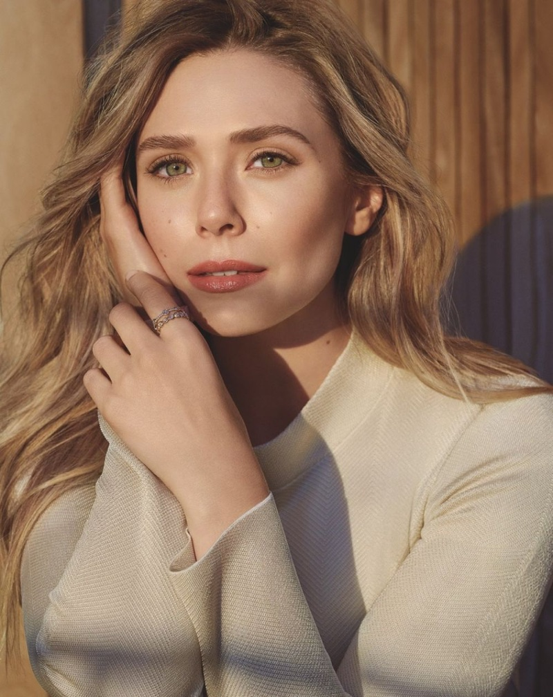 Actress  Elizabeth Olsen fronts Bobbi Brown Cosmetics campaign