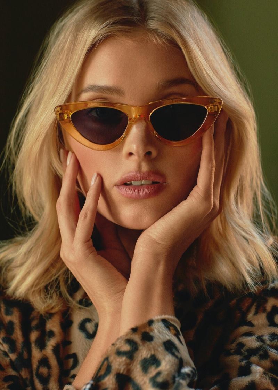 Model Elsa Hosk wears Chimi Eyewear Season 4 collection