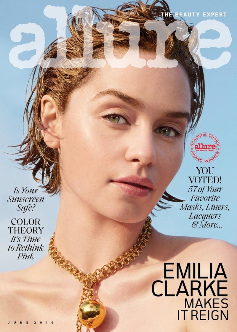 Emilia Clarke on Allure June 2019 Cover