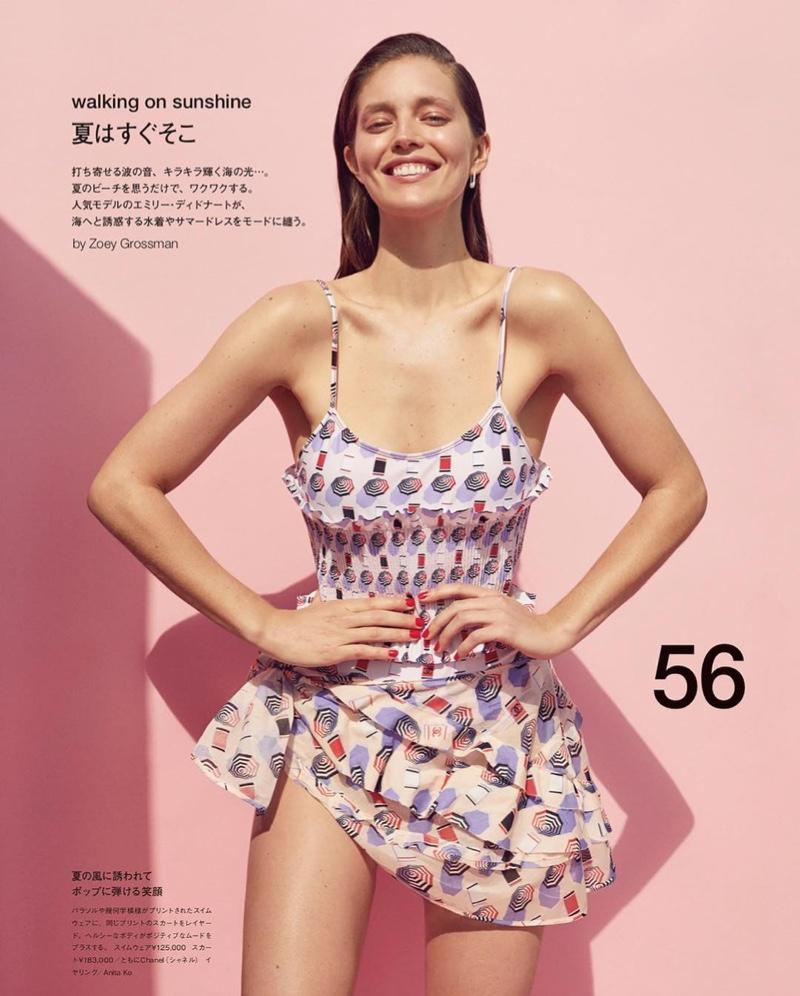Emily DiDonato Poses in Summer Beach Styles for Numero Tokyo