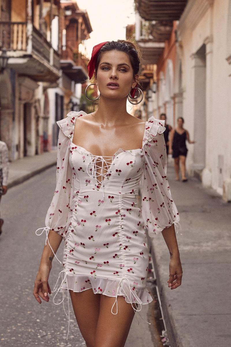 For Love & Lemons taps Isabeli Fontana for summer 2019 campaign