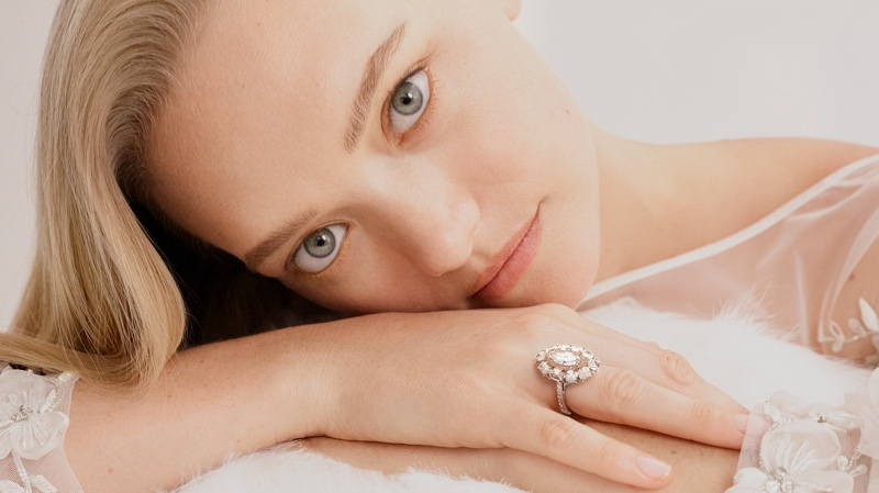 Ready for her closeup, Gemma Ward fronts Australian jewelry brand Hardy Brother's Wedding 2019 Collection campaign