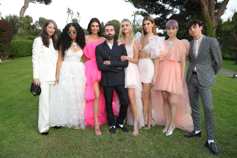 Giambattista Valli and H&M announce upcoming collaboration at amfAR Gala in Cannes.
