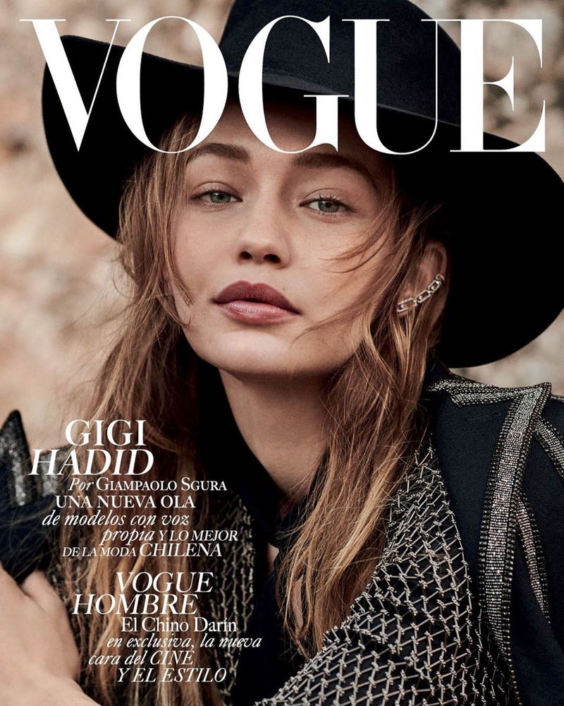 Gigi Hadid Channels Western Style for Vogue Mexico
