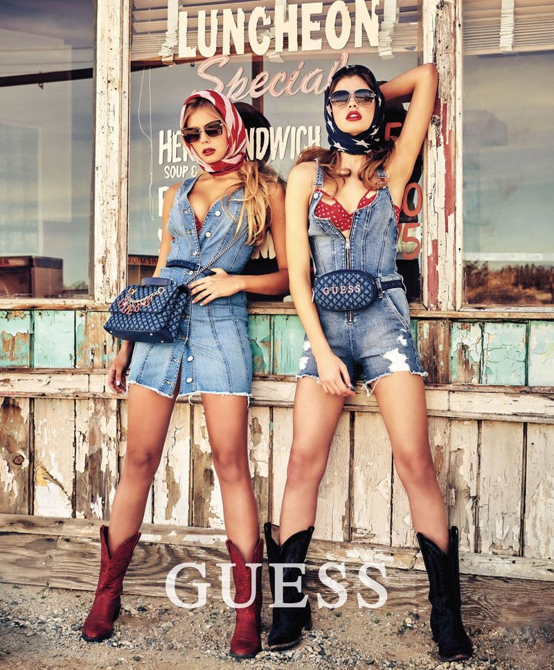 Guess sets summer 2019 campaign in the Mojave Desert