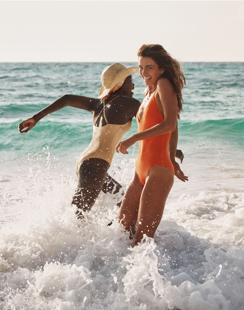 H&M focuses on swimwear for latest campaign