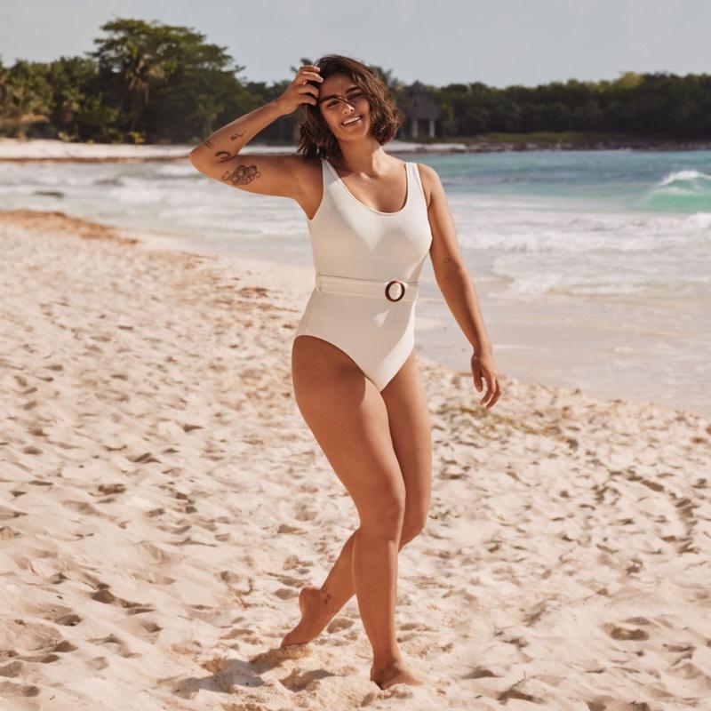 Jill Kortleve appears in H&M Swimwear 2019 campaign