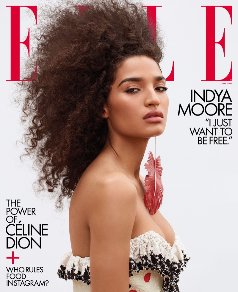 Indya Moore on ELLE US June 2019 Cover