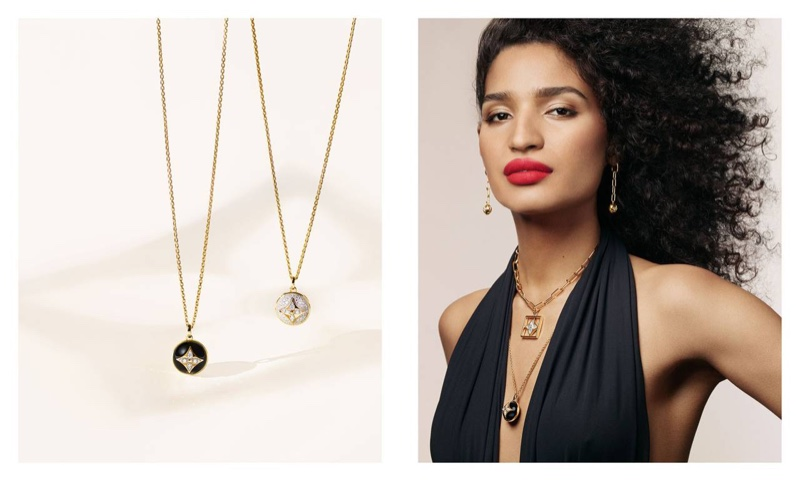Indya Moore fronts Louis Vuitton B. Blossom fine jewelry campaign