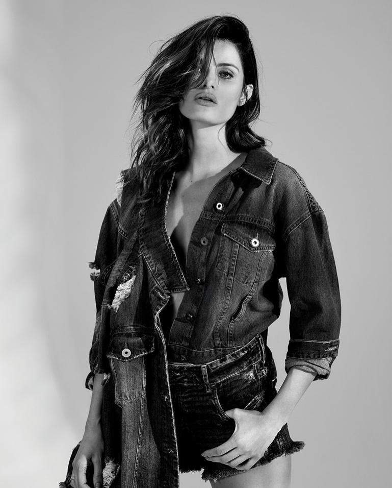 Model Isabeli Fontana is the face of Colcci Denim fall-winter 2019 campaign