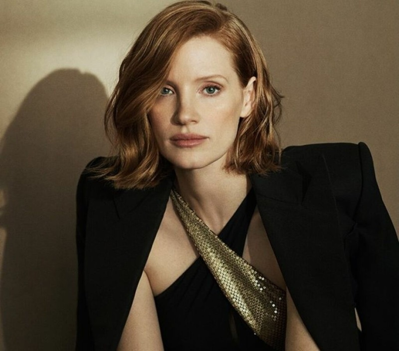 Jessica Chastain stars in Ralph Lauren Woman Intense fragrance campaign