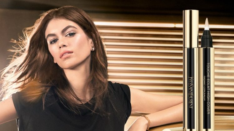 YSL Beauty taps Kaia Gerber for its spring-summer 2019 campaign