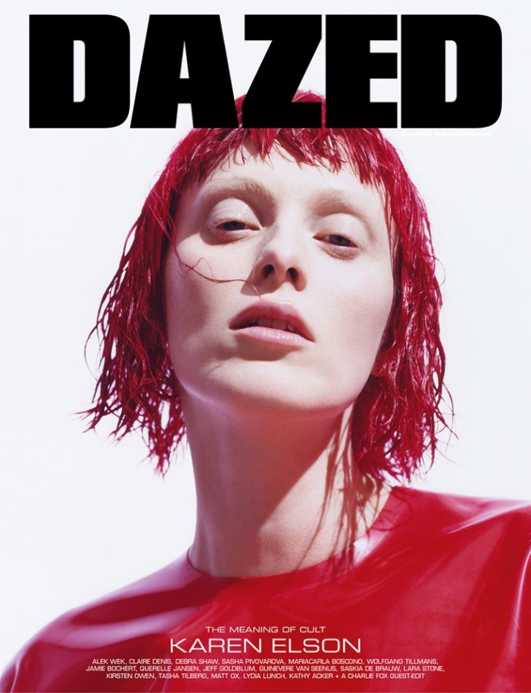 Karen Elson Enchants in Haute Couture for Dazed Magazine