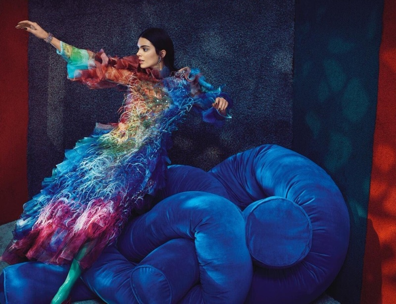Kendall Jenner Poses in Statement Styles for Vogue Australia