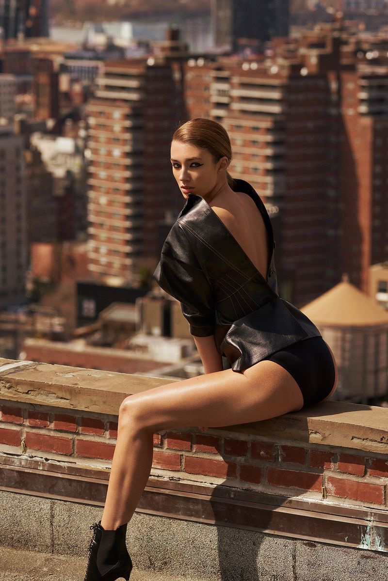 Lorena Rae Is A City Slicker for Grazia Italy