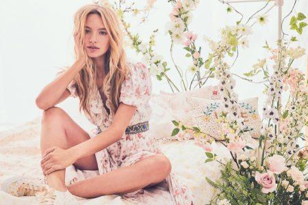 Maya Stepper Charms in LoveShackFancy Summer '19 Dresses