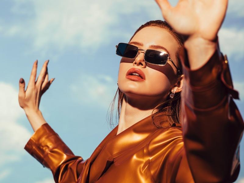 Madelaine Petsch x Prive Revaux Matrix sunglasses