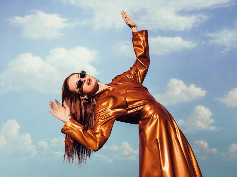 Madelaine Petsch x Prive Revaux Matrix sunglasses in black