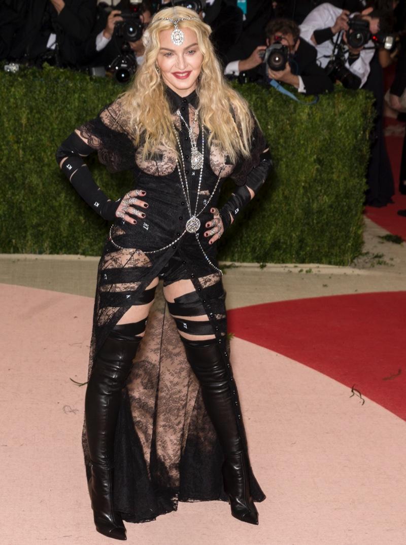 Madonna at 2016 Met Gala.