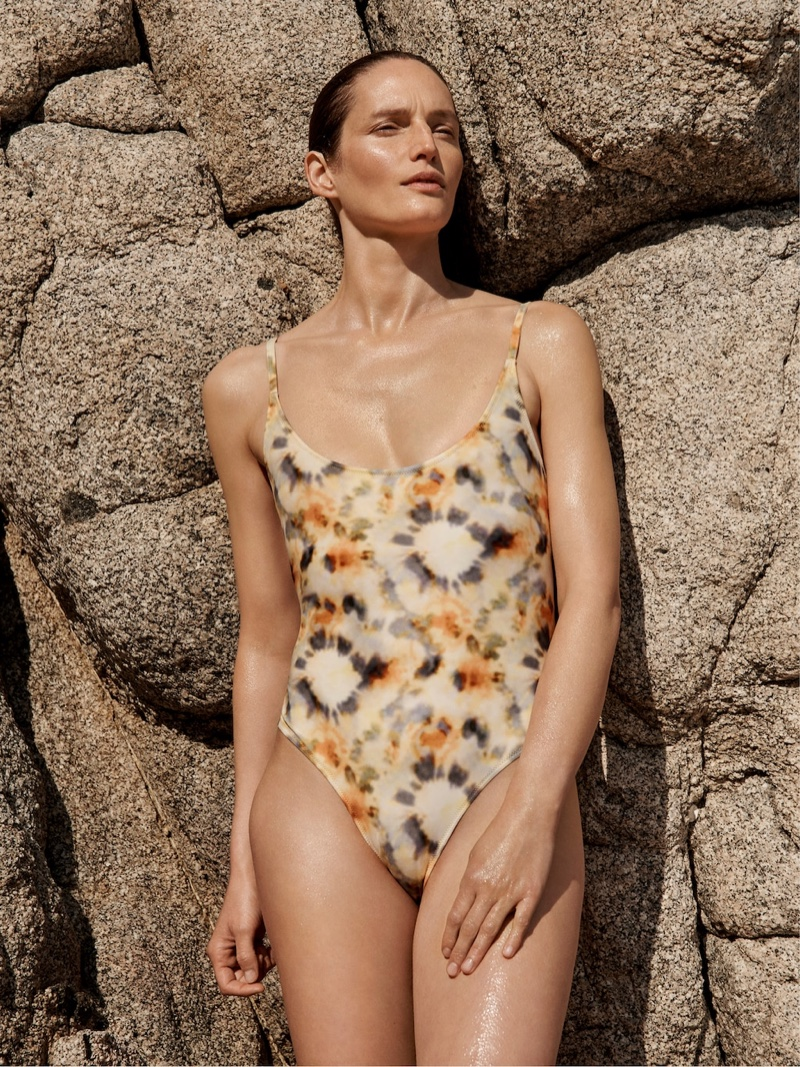 Mango Committed features swimwear in spring-summer 2019 collection