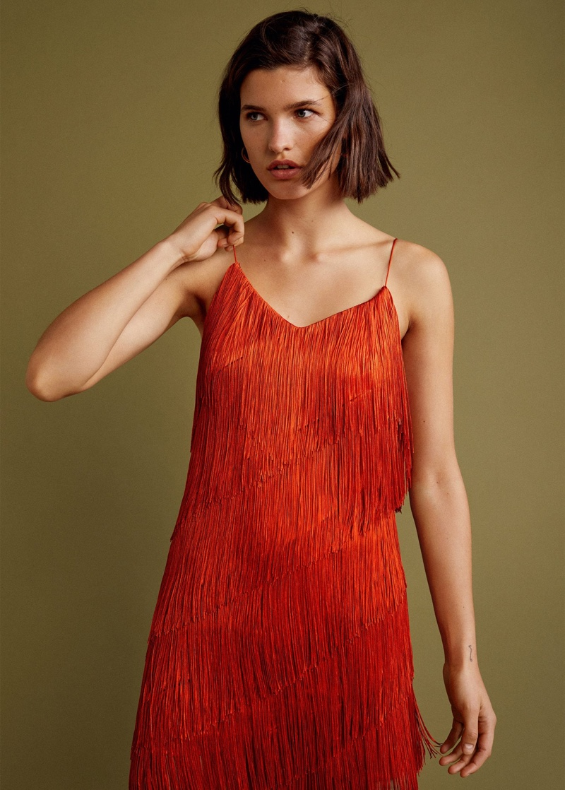 Spanish fashion brand Mango unveils an evening line for its Gala collection