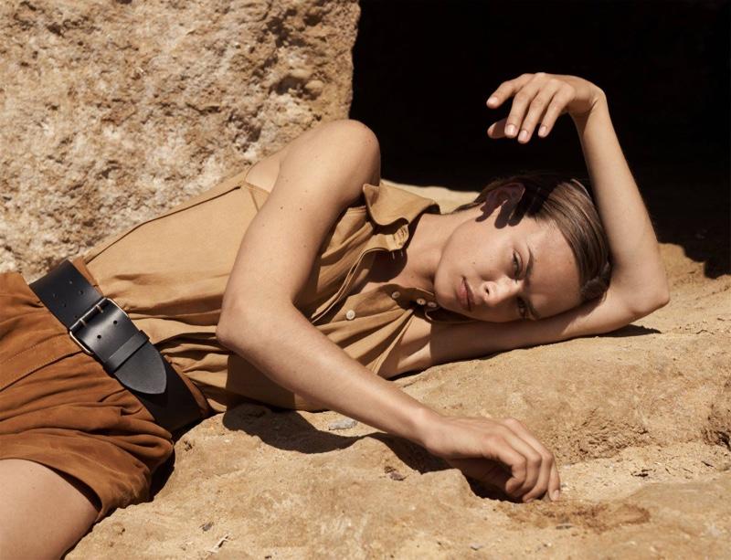 Birgit Kos stars in Massimo Dutti Limited Edition Volume II Collection