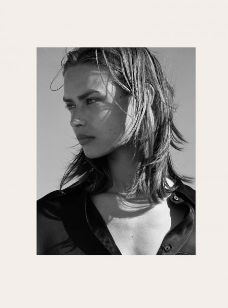 Birgit Kos Looks Chic in Massimo Dutti's Limited Edition Collection