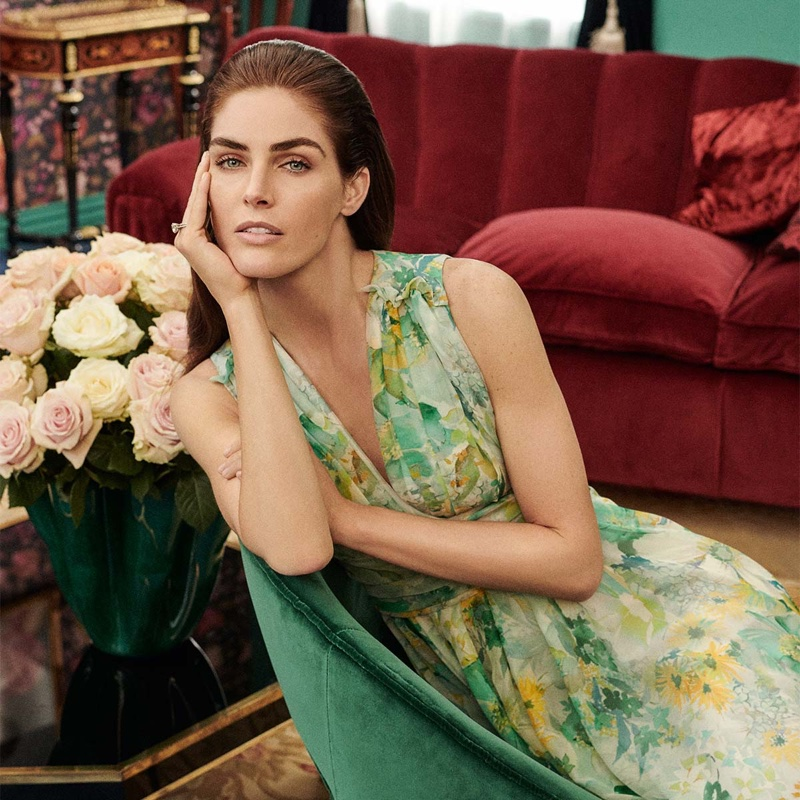 Max Mara embraces florals for spring-summer 2019 special occasion collection