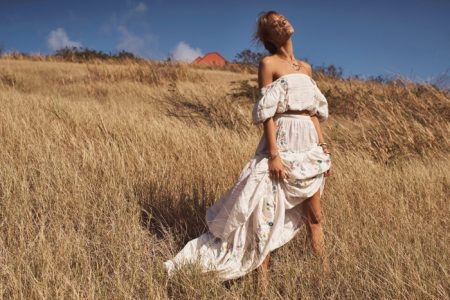 Maya Stepper Chases the Sun in LoveShackFancy Summer '19 Campaign
