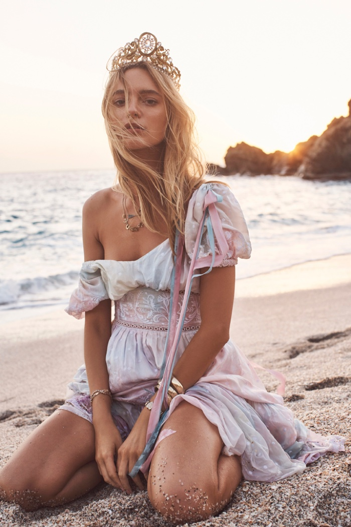 An image from the LoveShackFancy summer 2019 campaign