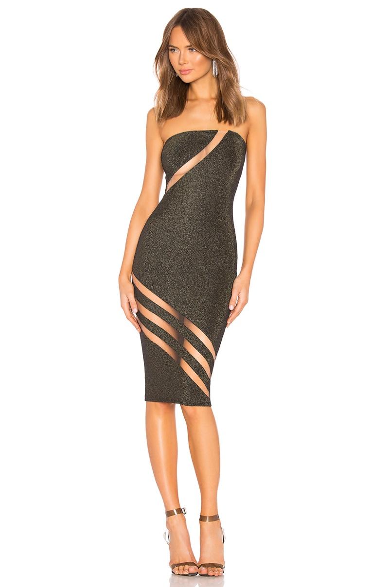 Michael Costello x REVOLVE Darla Dress $163