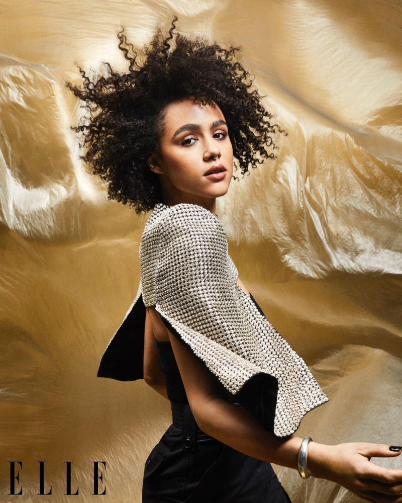 Nathalie Emmanuel wears Givenchy look