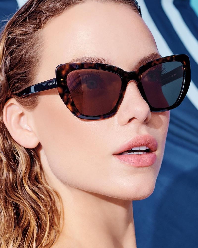 Prada Cat-Eye Sunglasses $350