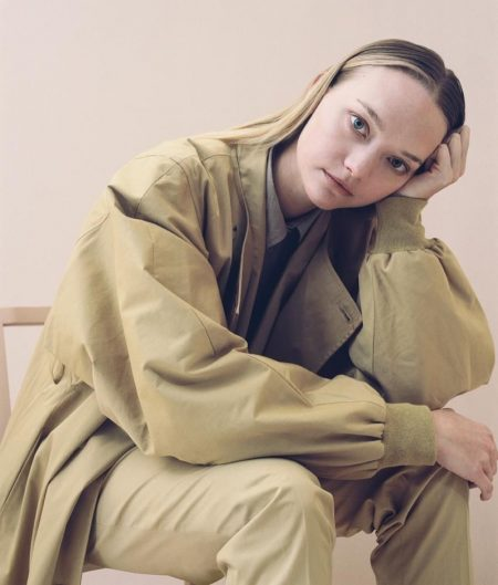 Gemma Ward, Alek Wek Model New Neutrals for WSJ. Magazine