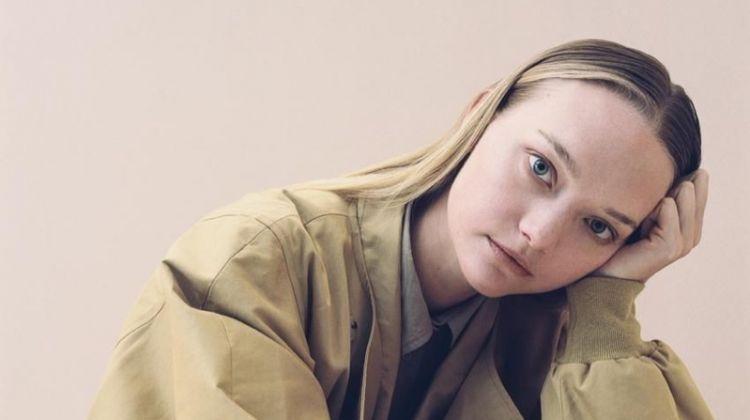 Gemma Ward, Alek Wek Model New Neutrals for WSJ. Magazine