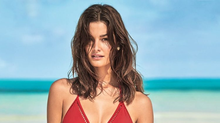 Ophelie Guillermand stars in Calzedonia Swim summer 2019 campaign